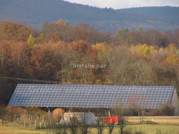 Installation photovoltaïque Uhrwiller 67350