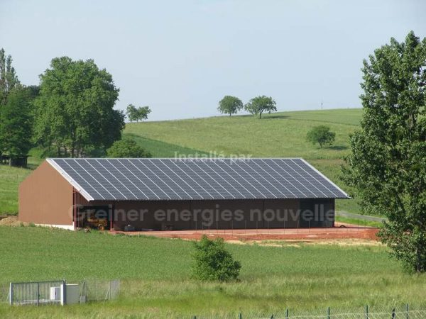Installation photovoltaïque Buswiller 67350