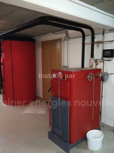 Installation chaudière bois bûches Alteckendorf 67270