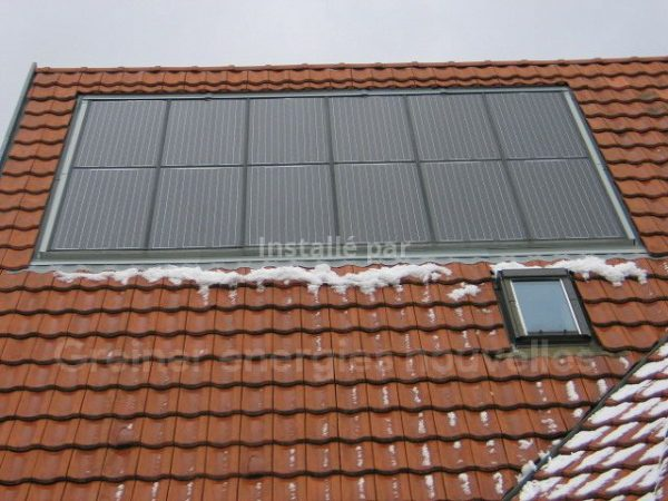 Installation photovoltaïque 2.1 kWc Val de Moder 67350