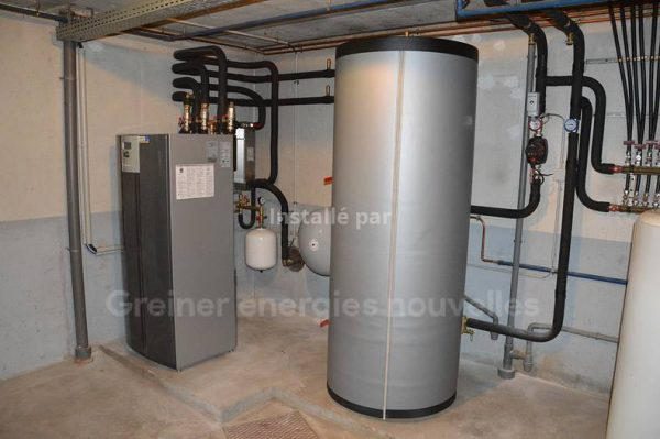 Installation pompe à chaleur eau/eau Ingwiller 67340
