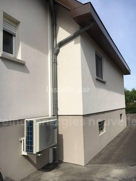 Climatisation_Haguenau Unité extérieure