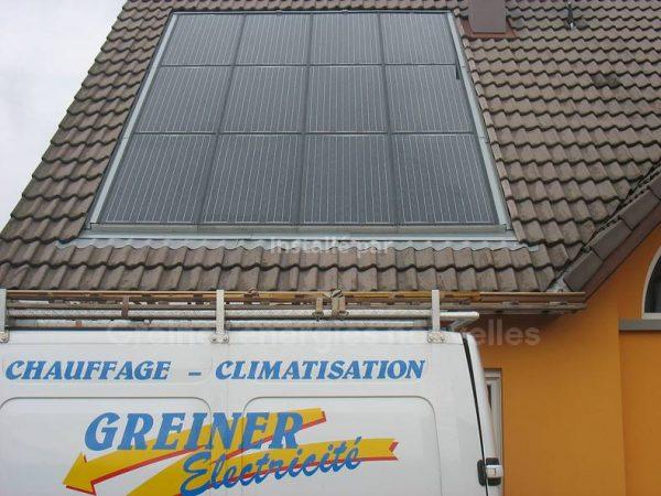 Installation Photovoltaïque 2 kWc Brumath