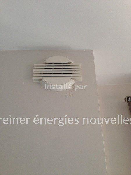 Bouche de soufflage aérovoltaïque Herrlisheim 67580