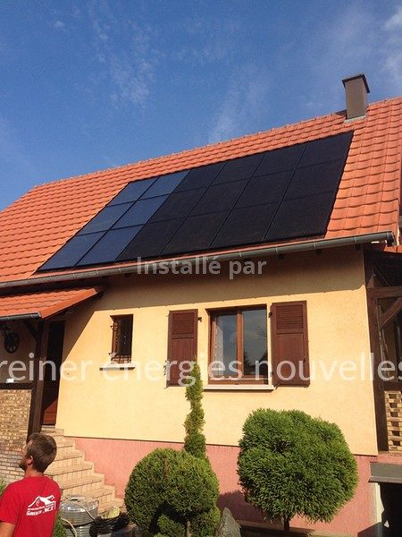 Photo et aérovoltaïque Herrlisheim 67580