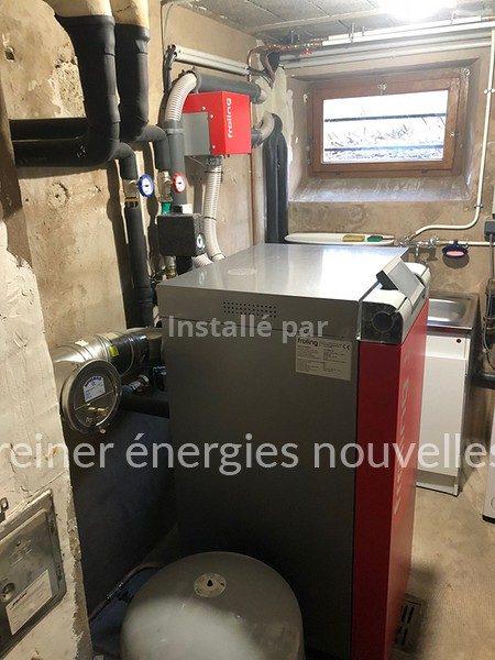 Chaudiere granules - EGUELSHARDT